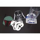 Rudel von vier  Coaster Star Wars Silikon-