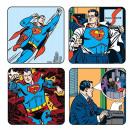 4 Coaster Satz Superman