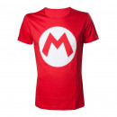 grossiste Electronique de divertissement: T-Shirt Mario  Nintendo Logo M Déclinaisons:T-Shirt