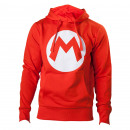 grossiste Electronique de divertissement: Sweat Mario Nintendo Logo M Tailles:S