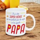 grossiste Tasses & Mugs:Mug Papa - Super-Héros