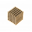 wholesale Blocks & Construction: Magnetic balls - 216 gold balls