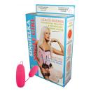 Aufblasbare Puppe Scheidung mit Vibrator (mit 3 Lö