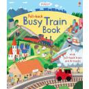 groothandel Sport- & fitnessapparaten: Usborne book - Teruggetrokken druk treinboek