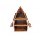 groothandel Woondecoratie: Houten bootvormige planken