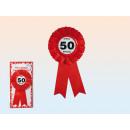 Badge verjaardag - 50