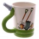 Gardener's mug - a rubber hose