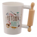 Cup of kitchen roller