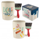 wholesale Painting Supplies:Mug painter with a brush