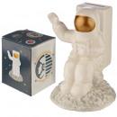 Ceramic money box cosmonaut