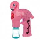 wholesale Garden playground equipment: Flamingo bubble gun - shines and gr
