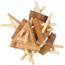wholesale Mind Games:Bamboo Puzzle Triangle