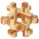 Großhandel Knobelspiele:Bambus Puzzle Quaderus