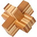 Großhandel Knobelspiele: Bambuspuzzle Teufelsknoten