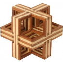 wholesale Mind Games:Bamboo Puzzle Cube D