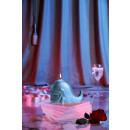 groothandel Kaarsen & standaards: Candle walvis - blauwe parel