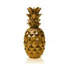 Candela ananas XL - oro metallizzato