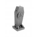 wholesale Candles & Candleholder: Candle in the shape of a coffin with pentagram - s