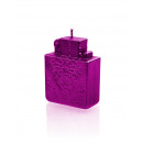 wholesale Lighters: Lighter candle - pink metallic
