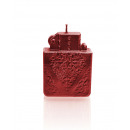 wholesale Lighters: Lighter candle - metallic red