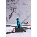 groothandel Kaarsen & standaards: Candle cat - blue metallic
