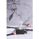 groothandel Kaarsen & standaards: Candle bulldog - pearl white