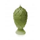 Großhandel Kerzen & Kerzenhalter: Faberge Ei Kerze XXL - Olive Perle