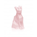wholesale Candles & Candleholder: Candle cat - bright pink pearl