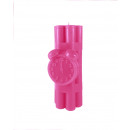 grossiste Bougies & bougeoirs: Candle dynamite XXL - rose foncé