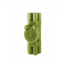 grossiste Bougies & bougeoirs: Candle dynamite XXL - olive