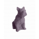 grossiste Bougies & bougeoirs:bulldog Candle - violet