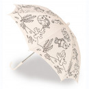 Regenschirm zum Färben