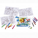 wholesale Gifts & Stationery:Set of puzzles coloring