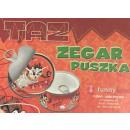 wholesale Clocks & Alarm Clocks: Clock in a tin Taz Looney Tunes