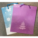 Bag prezentowa winter patroon