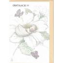 wholesale Greeting cards:Ticket congratulatory