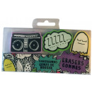 grossiste Fournitures scolaires:Eraser comique