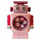 wholesale Clocks & Alarm Clocks:Robot Alarm Clock - Ruby