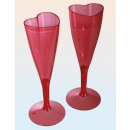 wholesale Drinking Glasses:Champagne glass heart