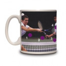 Mug tennis - Guess where the ball