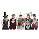 wholesale Costumes: Dressing up for a sudden event - a ghostly (5 piec