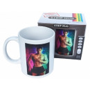 Magic mug with striptease - man
