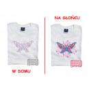 Großhandel Shirts & Tops: T-Shirt die Farbe  wechselt - Schmetterling