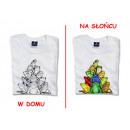 Großhandel Kinder- und Babybekleidung: T-Shirt die Farbe wechselt - Frösche