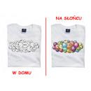 T-Shirt Farbe ändert - Bälle