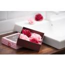 jabón de rosas y serpentinas