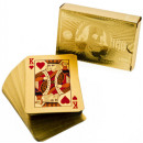 cartes d'or de jeu
