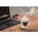 Mug magic pixel heart
