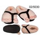 Große Fußschuhe - Universalgröße