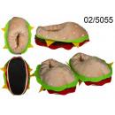 groothandel Kleding & Fashion: Hamburger pantoffels, maat 31-36